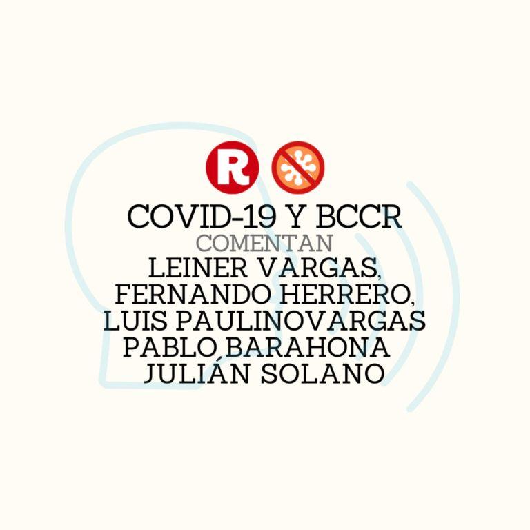 COVID-19 y BCCR
