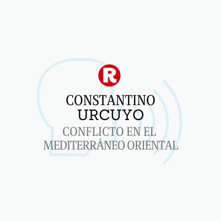 Constantino Urcuyo: Conflicto en el Mediterráneo Oriental